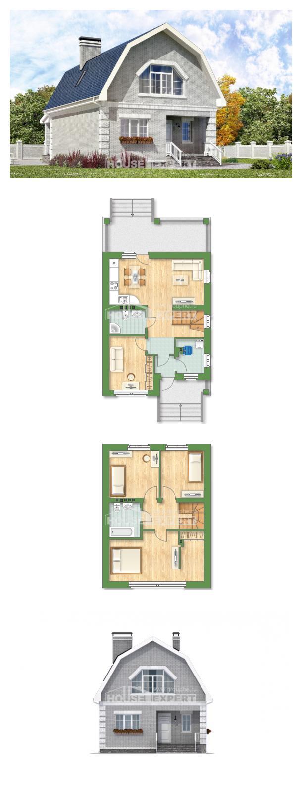 Проект дома 130-005-П   House Expert