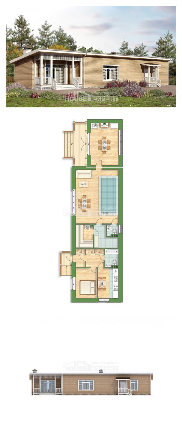 Проект дома 110-004-Л   House Expert