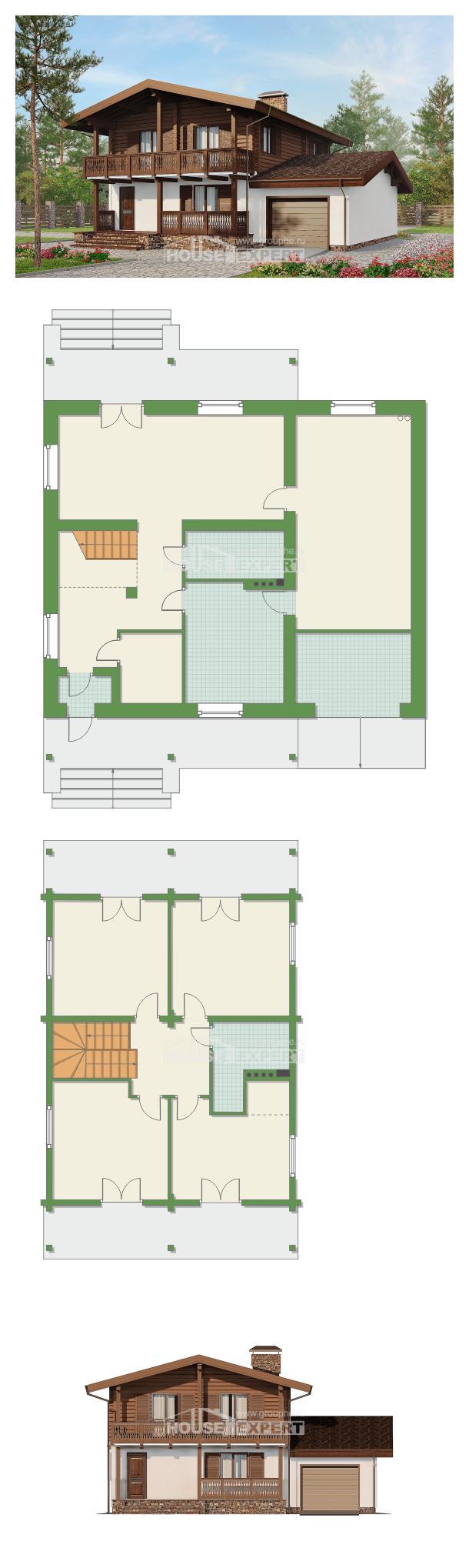 Проект дома 200-011-П | House Expert