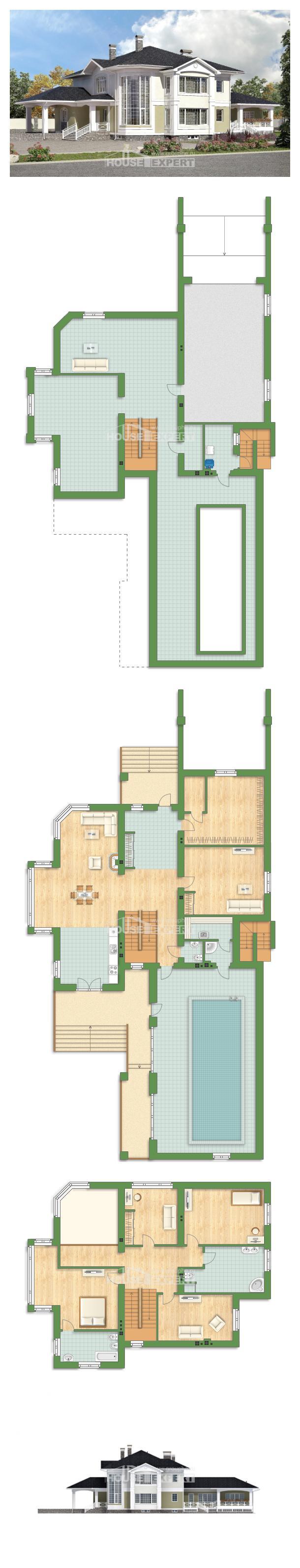 Проект дома 620-001-Л | House Expert