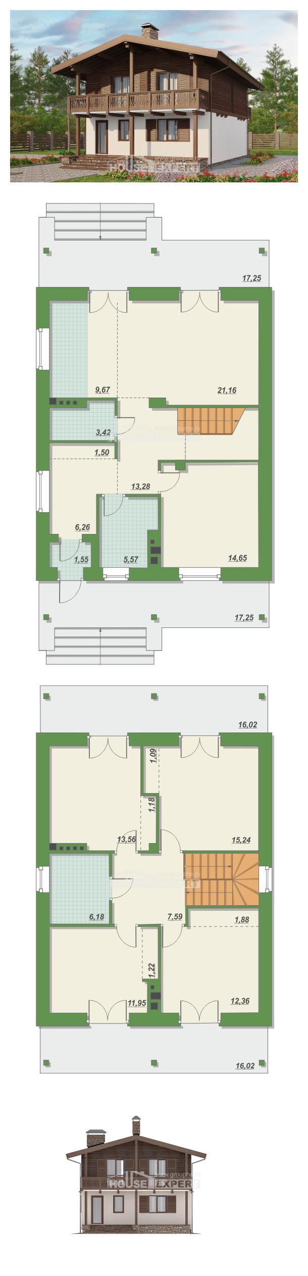 Проект дома 150-016-Л   House Expert