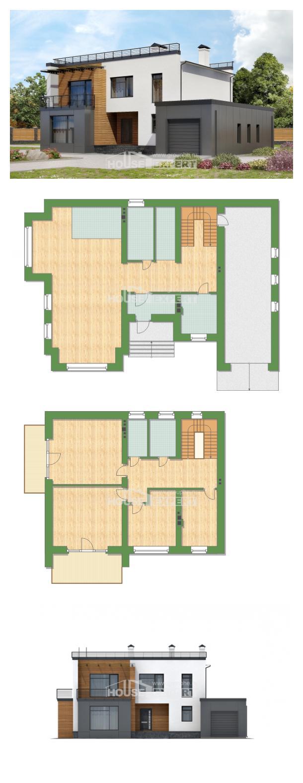 Проект дома 260-002-П   House Expert